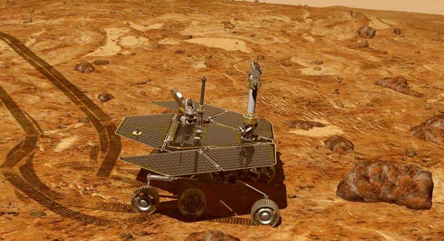 Efter over 14 års kørsel på Mars og en tilbagelagt distance på mere end 45 km er det nu muligvis ude med NASAs berømte marsrover »Opportunity«.