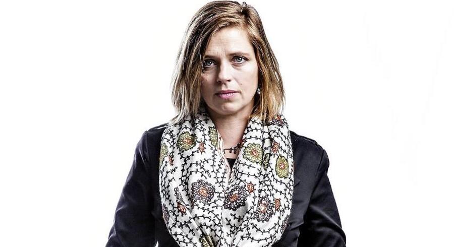 Katrine Winkel Holm, teolog og samfundsdebattør og datter af forhenværende folketingsmedlem for Dansk Folkeparti Søren Krarup.