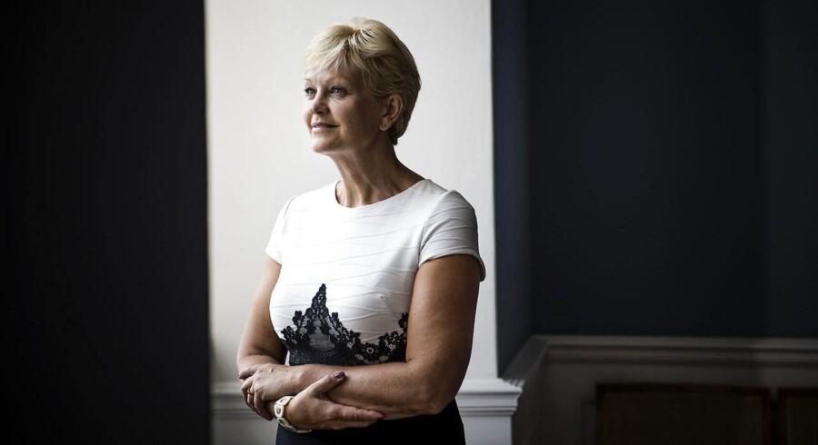 Eva Kjer Hansen, minister for ligestilling, nordisk samarbejde og fiskeri.