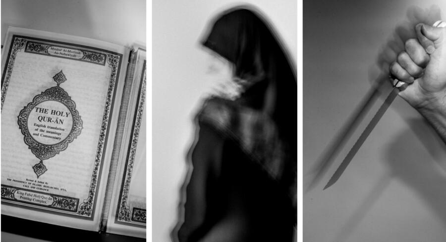 I Danmark lever et ukendt antal kvinder i et parallelsamfund, hvor de udsættes for fysisk, psykisk, seksuel og økonomisk vold af mænd, som blandt andet bruger en anden kulturbaggrund og religionen islam til at retfærdiggøre deres handlinger. I en serie fortæller Berlingske fire af disse kvinders historier.