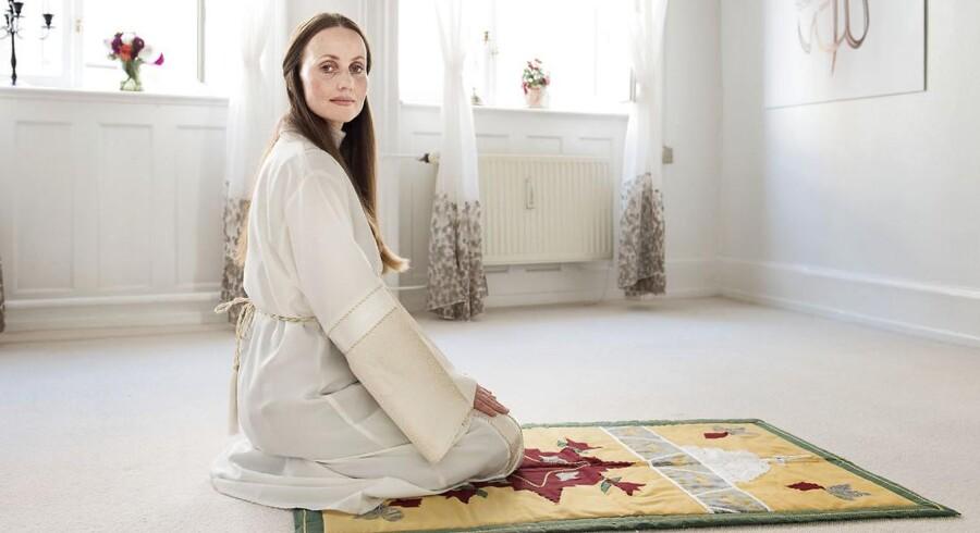 Sherin Khankan er imam i Mariam Moskeen. Arkivfoto.