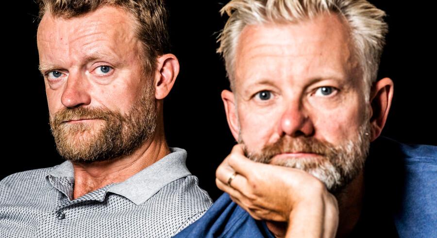 Casper Christensen og Frank Hvam har været komisk makkerpar i knap 20 år.