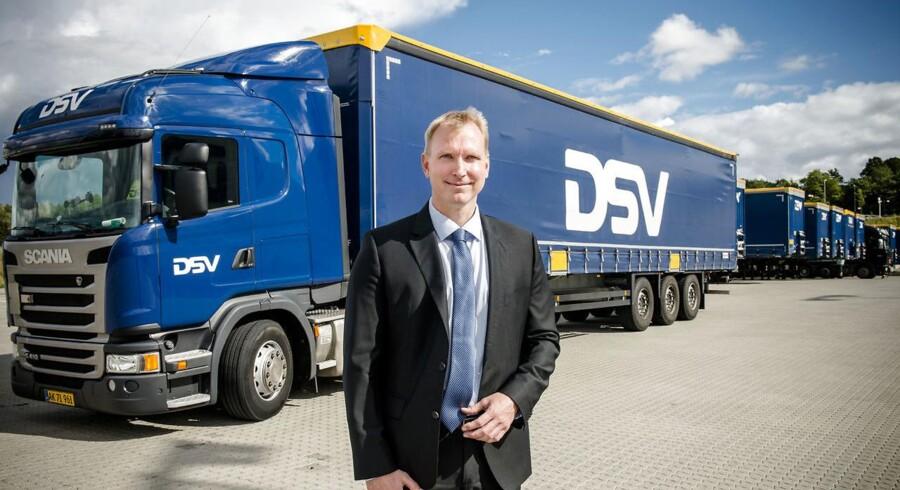 IT-chef for DSV, Jesper Riis. Fotograferet på deres central i Hedehusene.