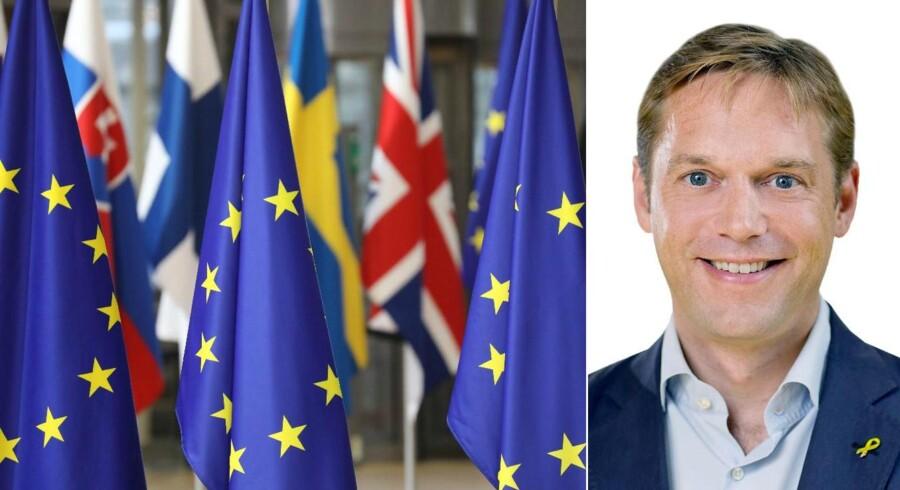 Venstre-kollega Nils Juhl Andreasen, tidl. kandidat til EU-Parlamentet kritiserer Marcus Knuth for at nedgøre EU og det, andre har bygget op.