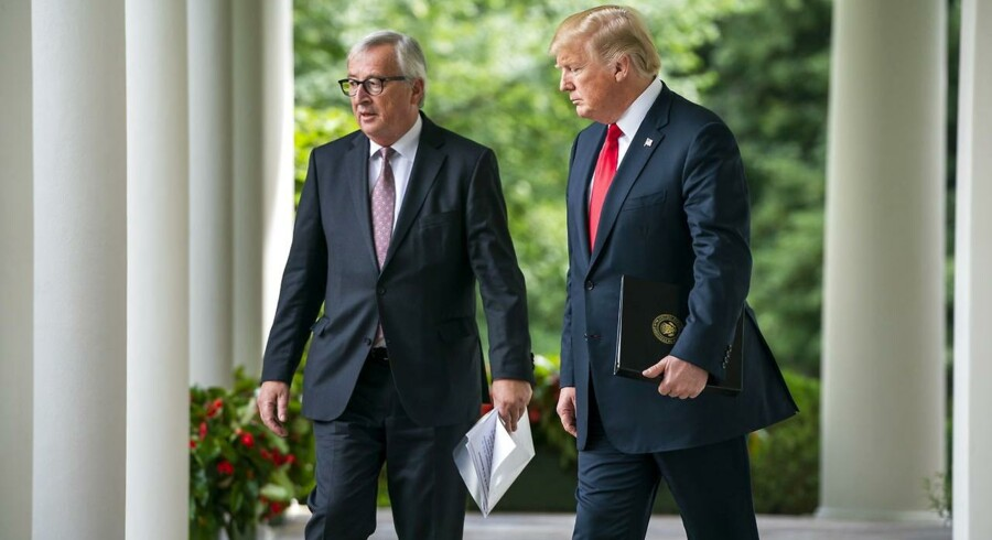 EU-Kommissionens formand, Jean-Claude Juncker, fik talt præsident Donald Trump til fornuft. EU er ikke længere en »fjende«, men USAs »bedste ven«.