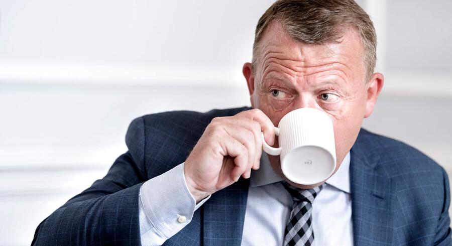 Statsminister Lars Løkke Rasmussen er en af de danske politikere, som Ruslands ambassade i Danmark har langet ud efter. Han er utroværdig, og derfor er hans advarsler om Rusland det samme, mener ambassaden.