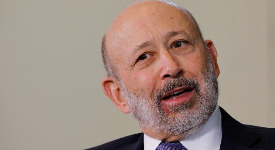 Goldman Sachs' afgående topchef og formand, Lloyd Blankfein, har skullet lægge et stort arbejde i at rehabilitere bankens omdømme efter finanskrisen i 2008. »Jeg kunne ikke genkende det billede, der dengang blev malet af mig i medierne. Nu ser folk, at jeg har en personlighed, at jeg fortæller vitser,« udtalte han i 2017 til Financial Times. Arkivfoto: Brian Snyder/Reuters/Scanpix