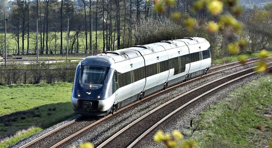 Det kniber med togservicen mellen Danmark og Tyskland.