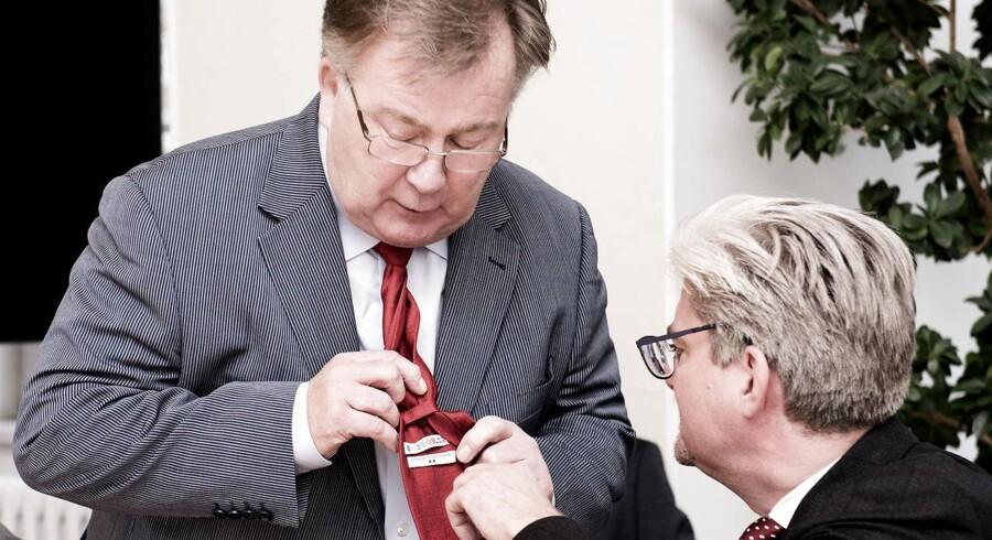Claus Hjort Frederiksen og Søren Pind