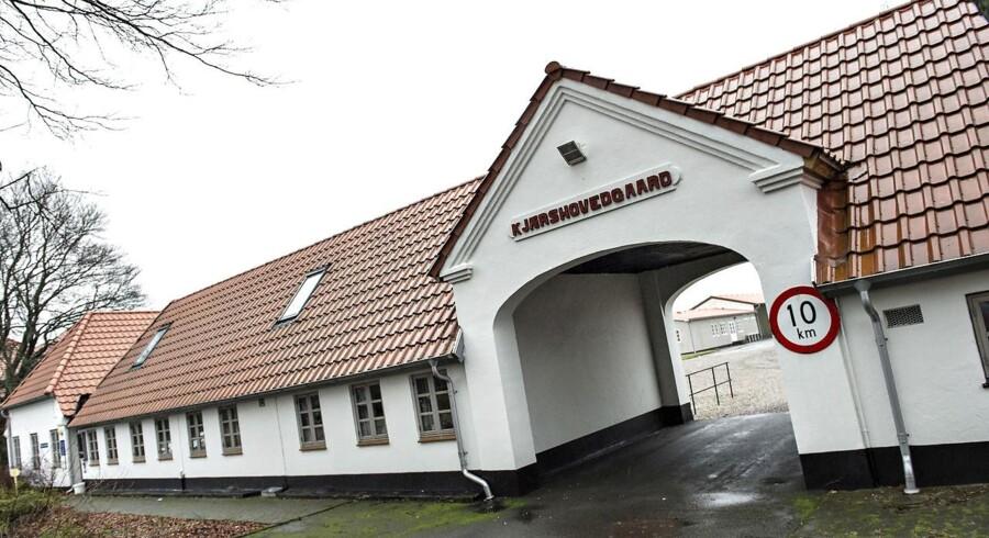 Udrejsecenter Kærshovedgård uden for Ikast er et af to centre, der har haft en del negativ omtale på det seneste.