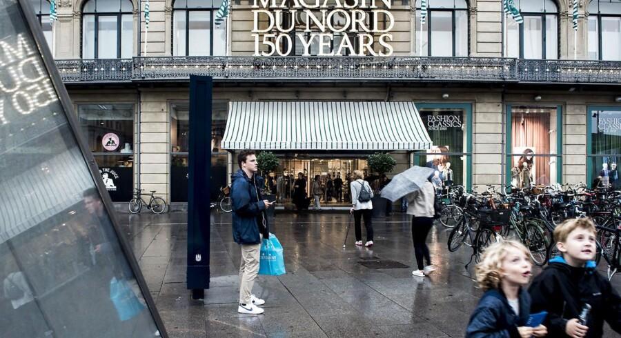 De danske forbrugere er aldrig kommet op på samme niveau for deres forbrug som inden finanskrisen. Arkivfoto af Magasin Du Nord.