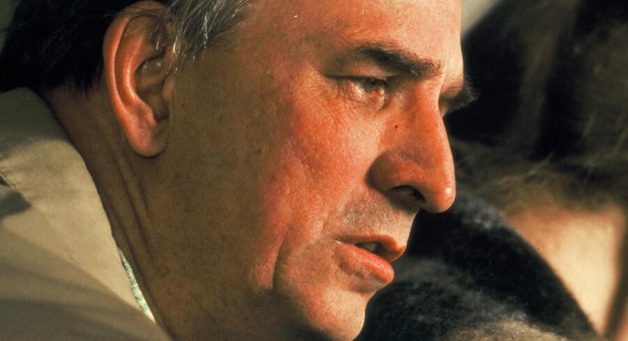 Ingmar Bergman under optagelserne til »Høstsonaten«.