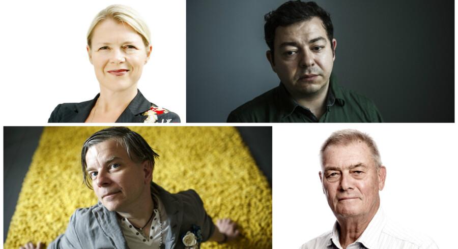Foto: Mick Anderson, Linda Kastrup, Niels Ahlmann Olesen og Ida Marie Odgaard.