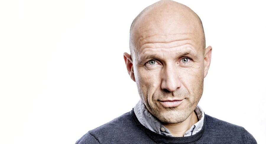 Adam Holm, tidl. studievært på Deadline på DR, forfatter, historiker