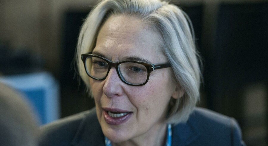 DRs generaldirektør Maria Rørbye Rønn - befinder sig i øjeblikket i karrierens mest kaotiske tid.