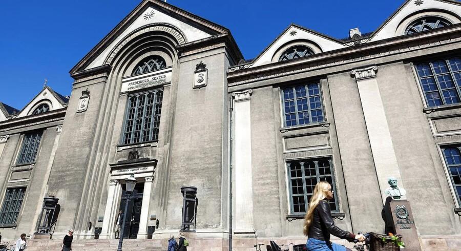 Københavns Universitets bygning på Vor Frue Plads. Foto: Niels Ahlmann Olesen/Ritzau Scanpix