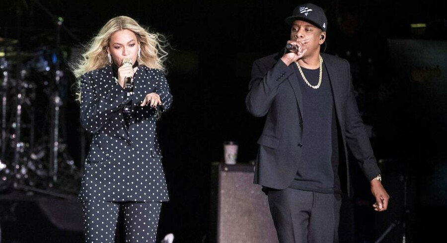 Ægteparret Beyonce og Jay-Z har slået sig sammen på et nyt fælles album. Her optræder de sammen tilbage i 2016.