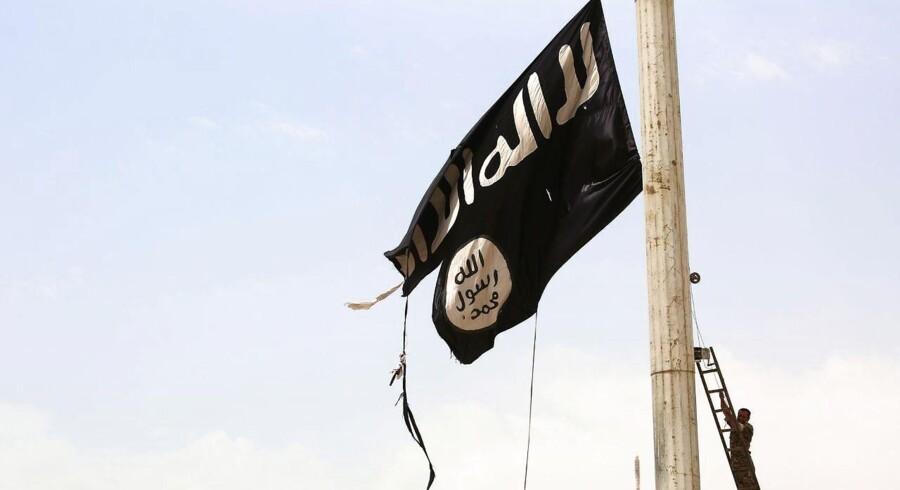 Medlemmer af de Syriske Demokratiske Styrker fjernede sidste år Islamisk Stats sorte flag i byen Tabqa efter at have nedkæmpet terrororbevægelsen i området. I takt med, at IS er blevet drevet tilbage, står mange af de overlevende europæiske støtter, der tog til Syrien for at kæmpe, foran et retsopgør.