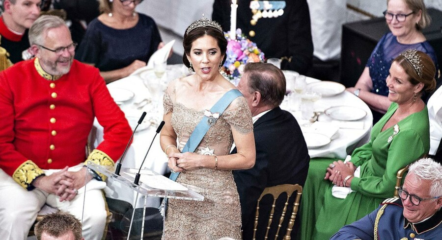 Kronprinsesse Marys fødselsdagstale til kronprins Frederik vil gå over i historien som en af Kongehusets vigtigste, mener kongehusekspert Lars Hovbakke Sørensen.