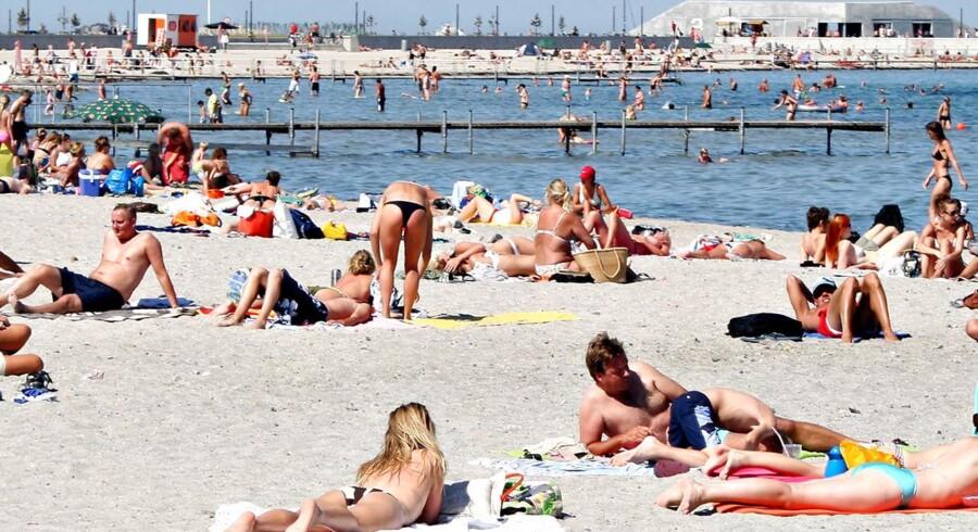 I dag kan københavnerne bl.a. tage sig en dukkert ved Amager Strandpark. Om tre år kan de gøre det samme ved en ny sandstrand ved Valbyparken.