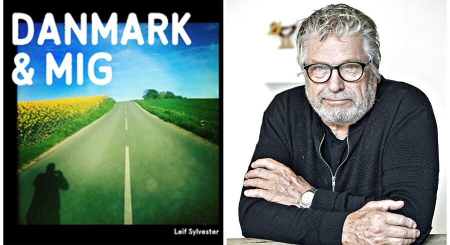 Foto: Bogens forside og Jens Nørgaard Larsen.