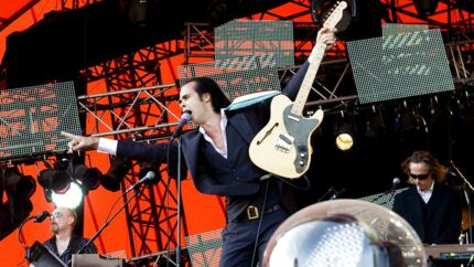 Nick Cave and the Bad Seeds vender tilbage til Orange Scene. Her er de fanget ved deres seneste koncert på Roskilde Festival tilbage i 2009.