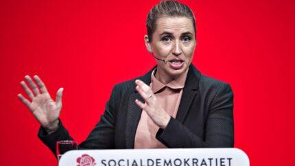 Arkivfoto. Formand for Socialdemokratiet Mette Frederiksen.