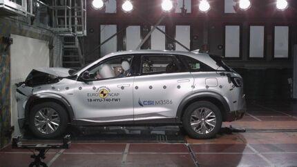 Euro NCAP har for første gang testet en brintbil, Hyundai Nexo, og resultatet er positivt i forhold til sikkerhedsniveauet