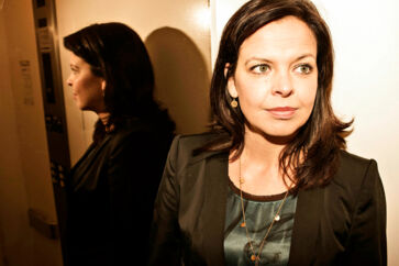 Direktør Camilla Ley Valentin for Queue-it.com fotograferet i Ballerup ved virksomhedens lokaler torsdag 7. januar 2016.