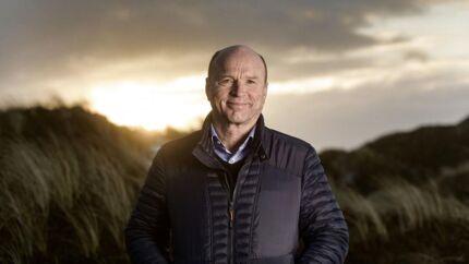 CEO Tom Axelgaard. Produktion af kød fra grise, der er opdrættet uden antibiotika, skal være med til at sælge landbrugskoncernen Axzon over for investorerne ved børsnotering. (Foto: Palle Peter Skov).