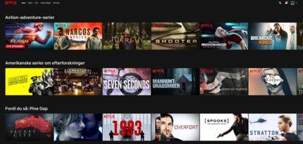 Man kommer langt omkring med Netflix-forslagene baseret på genrekoder.
