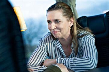 Mette Frederiksen (S) har grund til at være glad. Hun og resten af rød blok ligger nemlig til at få 53,1 procent af stemmerne, hvis der var valg i dag.