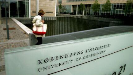 Det var i Københavns Universitets lokaler på Njalsgade, at voldtægten ifølge politiets tiltale fandt sted. Arkivfoto.