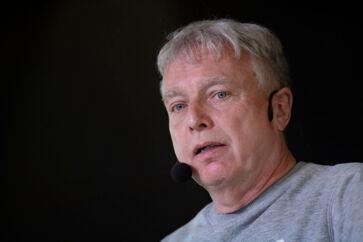 Kristian Jensen fra Venstre og Uffe Elbæk fra Alternativet debatterer klima- og uddannelsespolitik samt lighed på Silkeborg Gymnasium i Silkeborg, mandag den 13. maj 2019.