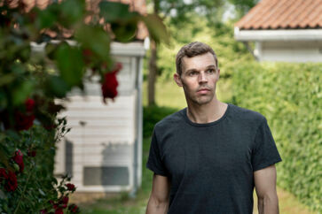 Claus Iversen arbejder aktivt med gælden i sit rækkehus i Holte, og han har konverteret sit realkreditlån flere gange.