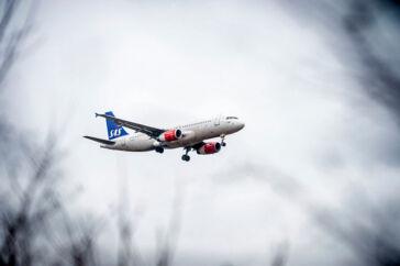 SAS-flyet på vej til Tyrkiet var kun nået op i et par kms højde, da passagererne begyndte at besvime. SAS har ingen forklaring på hændelsen. Arkivfoto.