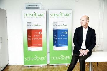 Thomas Schnegelsburg, CEO i virksomheden Stenocare, der leverer medicinsk cannabis til danske apoteker.