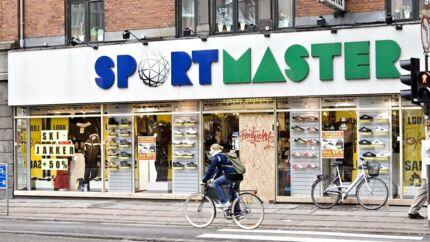 Arkivfoto af Sportmaster på Nørrebrogade.