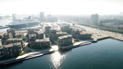 Såkaldt »almindelige mennesker« har svært ved at komme ind på boligmarkedet, medmindre de har en god opsparing med sig. Visse steder – i for eksempel i Nordhavn (billedet) – ligger kvadratmeterpriserne på over 53.000 kr.