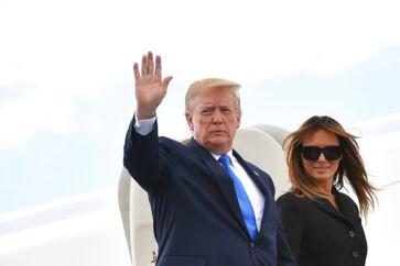 USAs præsident Donald Trump og førstedame Melania Trump besøger Danmarkden 2.-3. september 2019. »Besøget er guld værd for dansk erhvervsliv,« lyder reaktion fra Brian Mikkelsen, adm. direktør i Dansk Erhverv.