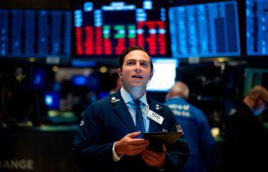 Yes, nu går det fremad igen på aktiemarkedet. Foto: Johannes Eisele/AFP/Ritzau Scanpix