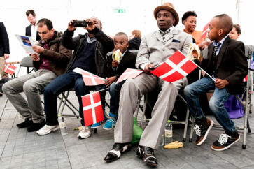 Hvert år inviterer Folketinget til statsborgerskabsdag. Her bliver alle, der er tildelt statsborgerskab det foregående år, fejret.