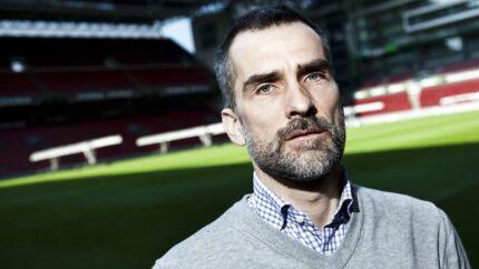 Anders Hørsholt, FCKs administrerende direktør. Fotograferet i Parken på Østerbro (Foto: Jonas Vandall / Scanpix)
