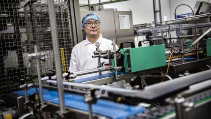 Steve Wang er CEO i Mille Food, producent af modermælkserstatning.