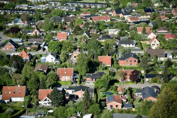 Nationalbankens økonomer forventer, at huspriserne stiger med 9,2 procent fra 2018 til 2021. Arkivfoto: Mathias Løvgreen Bojesen/Ritzau Scanpix