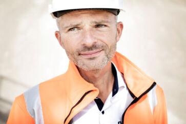 Thomas Steen Hansen, adm. direktør for Dansand i Brædstrup. Dansand eksporterer bl.a. fugesand til England og har forberedt sig på et hårdt Brexit ved at flytte dele af produktionen i England og stramme kreditskruen over for sin store kunde i England.