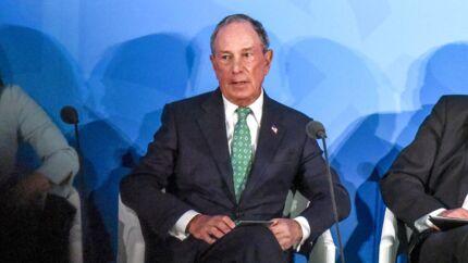USAs sjette rigeste mand Michael Bloomberg gav en bredside mod Donald Trump på det store borgmestermøde i København torsdag. Arkivfoto.