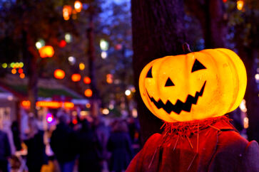 Aktierne stiger ofte op til Halloween og er generelt stærkest i fjerde kvartal ifølge historisk data.