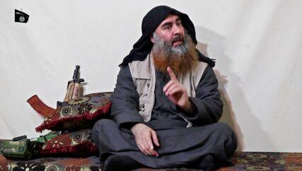 ARKIVFOTO af Abu Bakr al-Baghdadi.