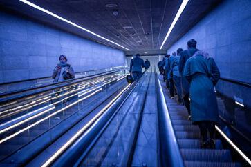 Det er langt fra alle københavnerne, der er begejstrede over den nyeste tilføjelse til hovedstadens kollektive transport. Mange beboere især på Haraldsgade er plaget at støj fra metrotogene. Arkivfoto: Thomas Lekfeldt